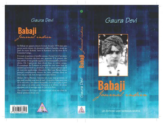 Couverture de Babaji. Journal indien